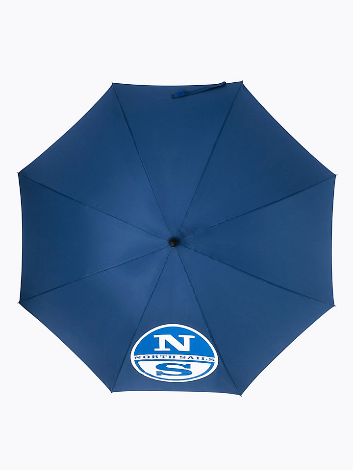 Large Logo Print Umbrella