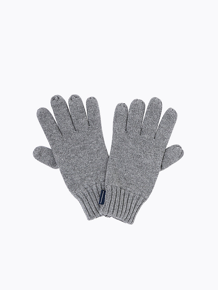 Handschoenen van wol-katoenmix