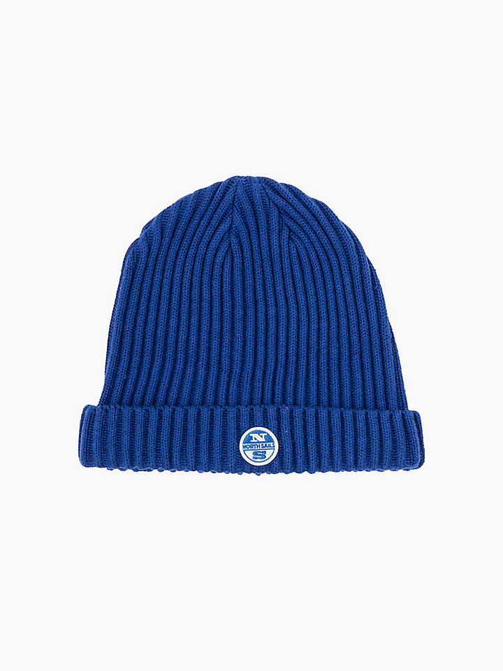 Wool Cotton Blend Beanie