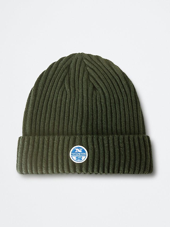 Mütze aus Wollmischgarn