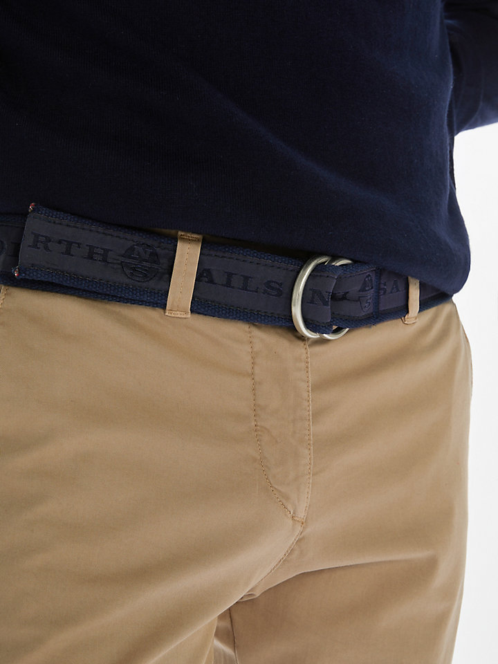 Logo-Printed Belt
