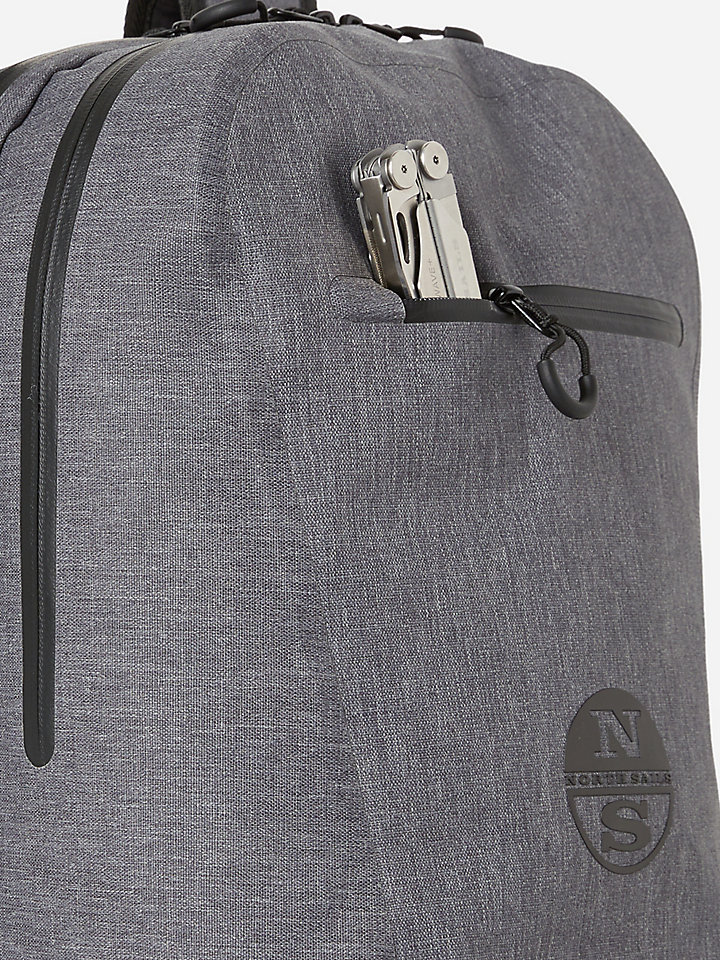 Backpack With Double Zip