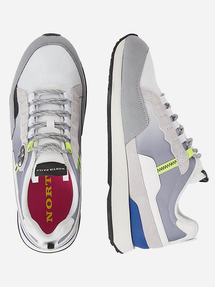 Degradé nylon sneakers