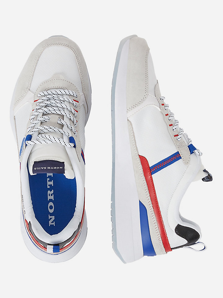 Recycled nylon sneakers