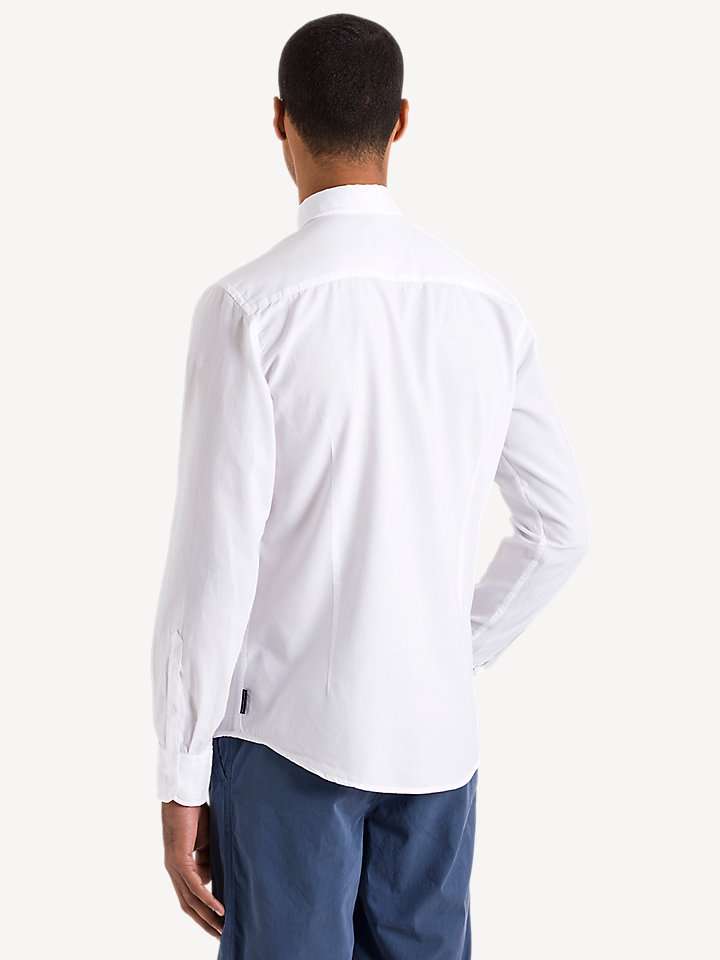Basic Longsleeve Oxford Shirt