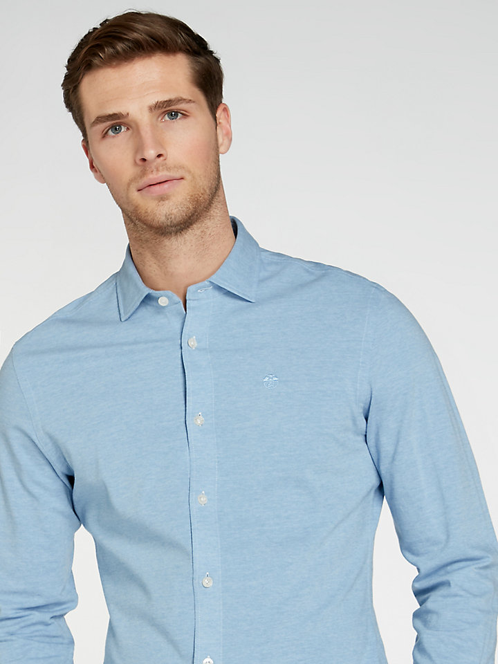 Fine Piquet-Shirt Slim