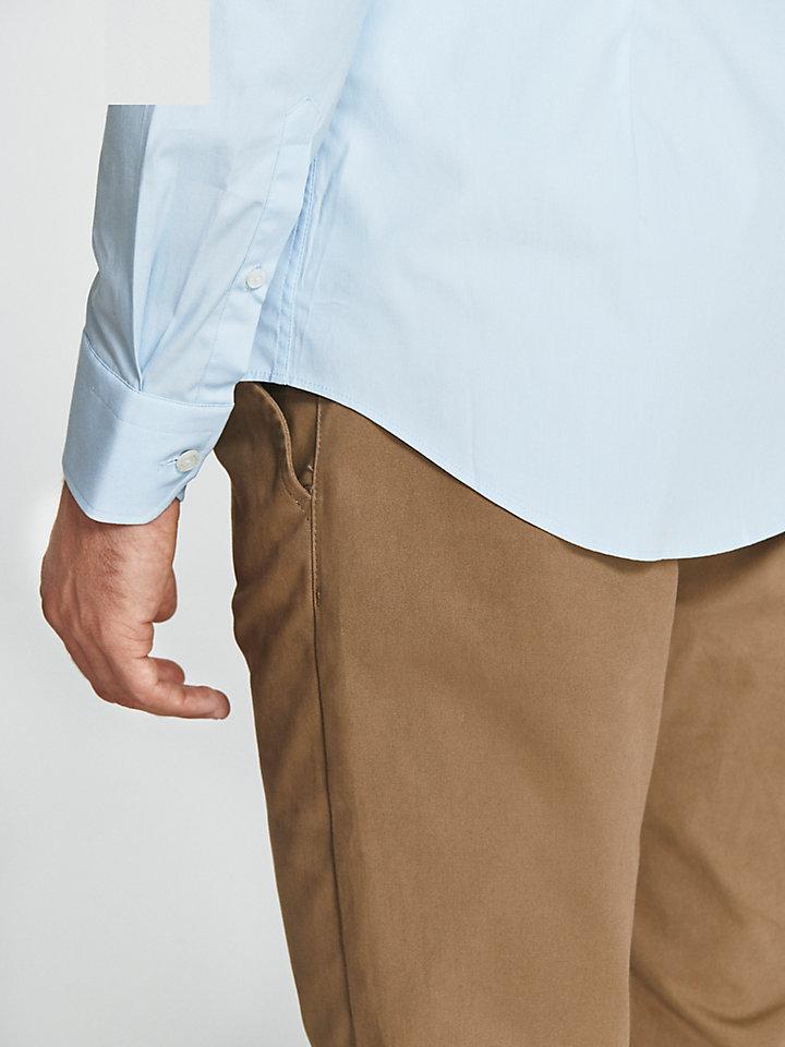 Hemd aus Stretchpopeline