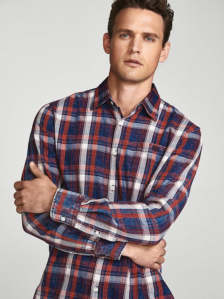 Checked Twill Shirt