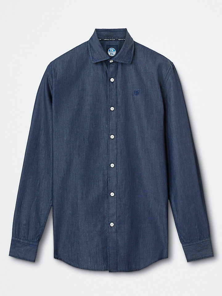 Cotton Denim Shirt