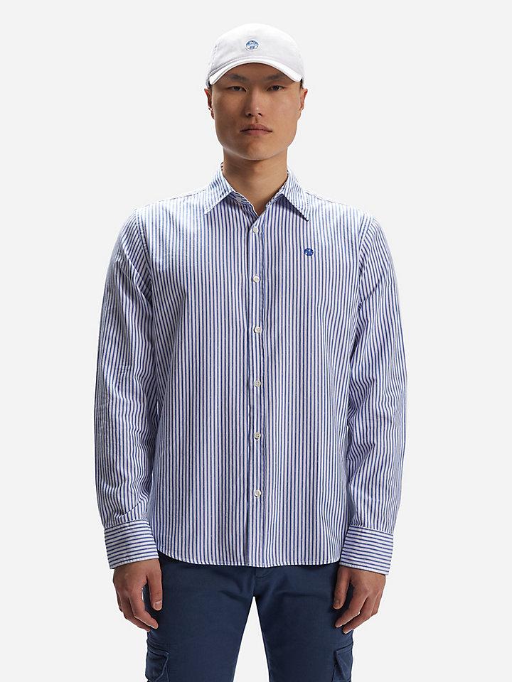 shirt l/s point collar regular