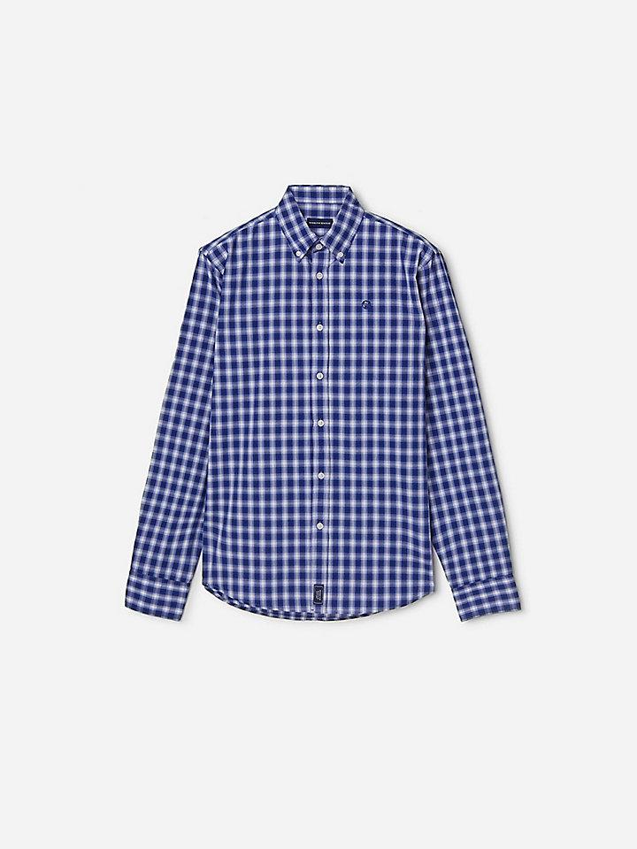Shirt van jacquardkatoen