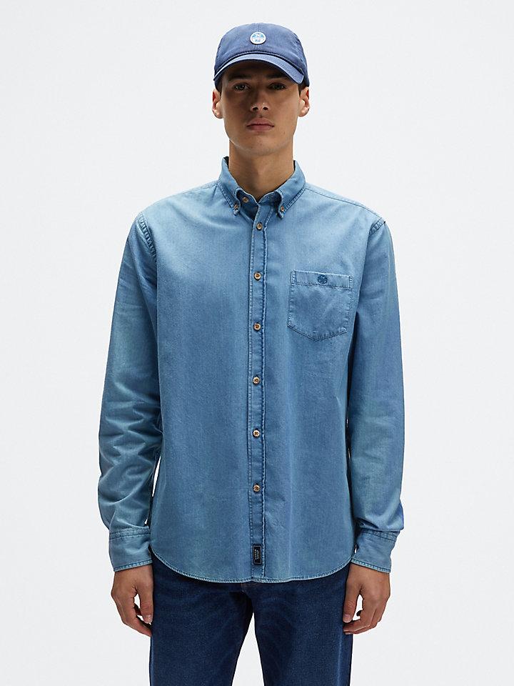 Shirt van batist