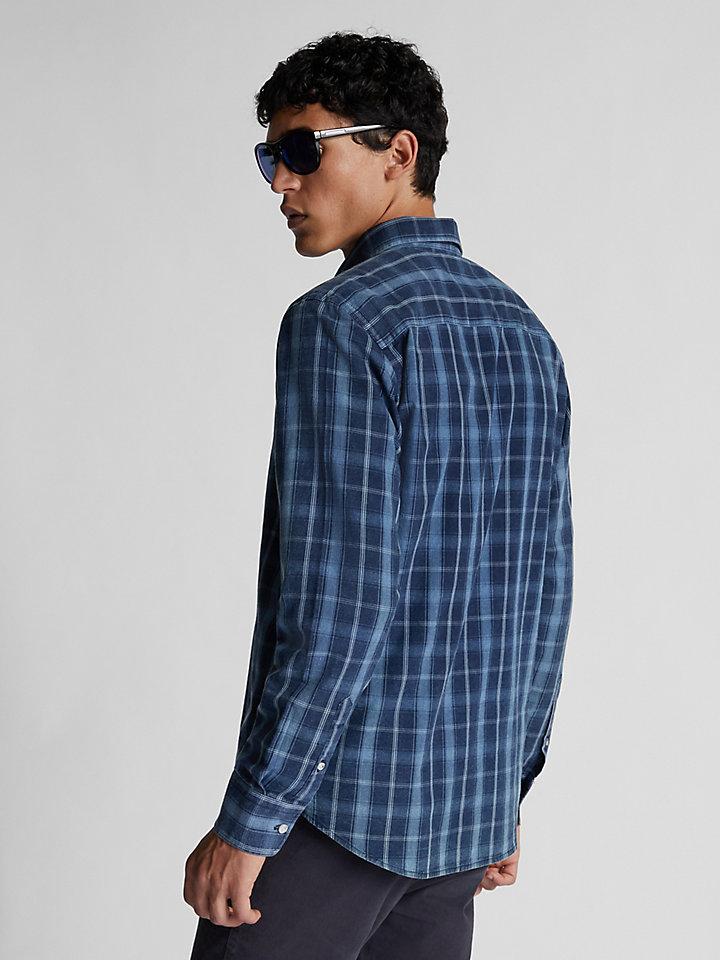 Camicia in cotone check