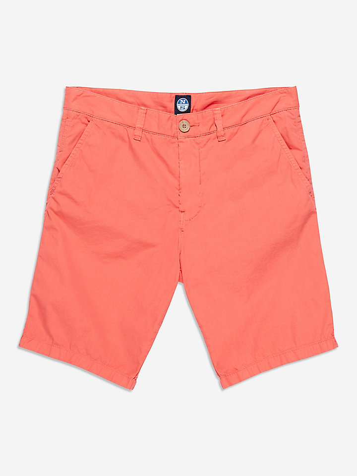 Poplin Chino Short Slim