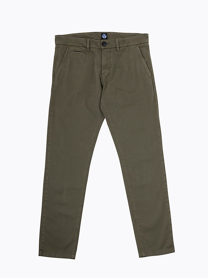 Slim-Fit Chino Trousers