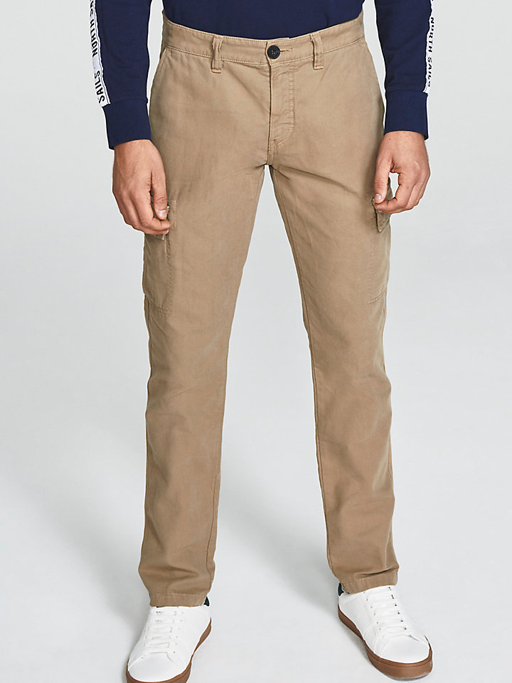 Slim-Fit Cargo Trousers