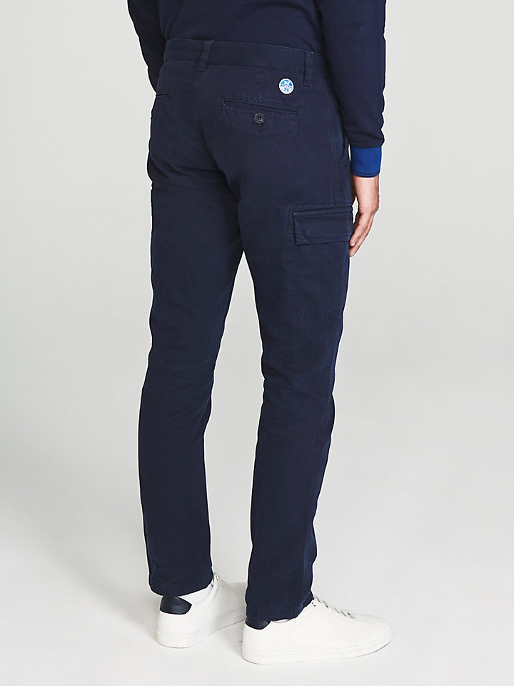 Slim-fit cargobroek