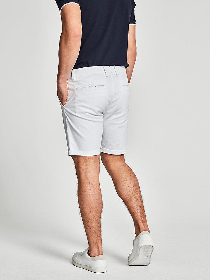 Gabardine Chino Shorts