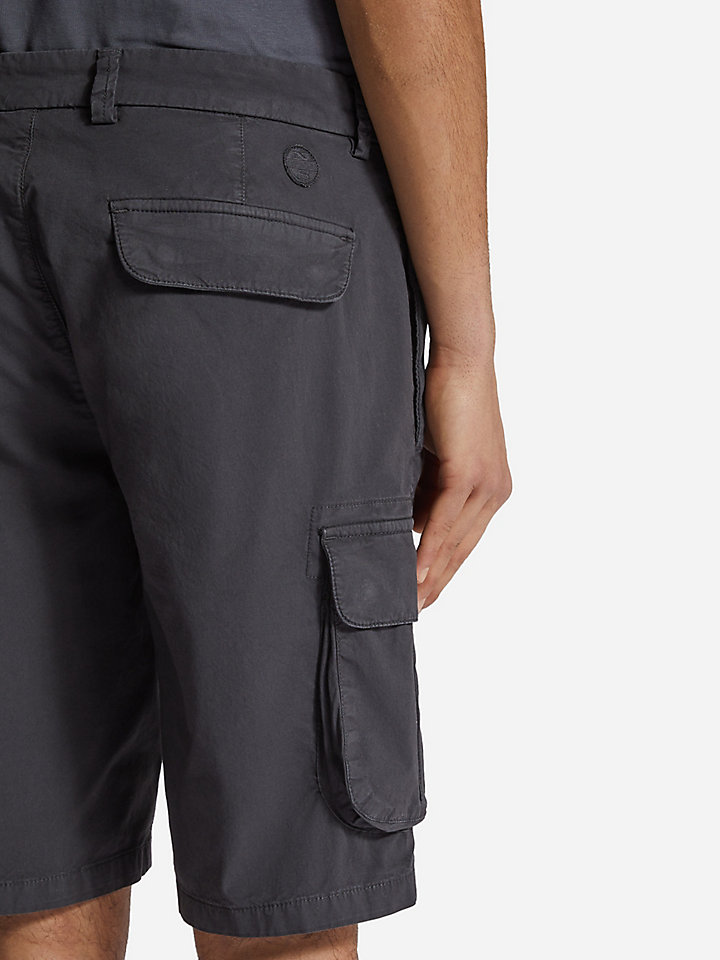 Cotton Poplin Cargo Shorts