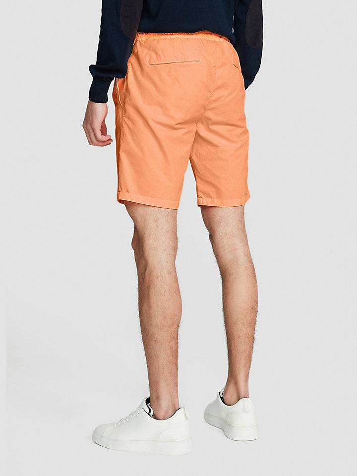 Poplin Cotton Chino Shorts