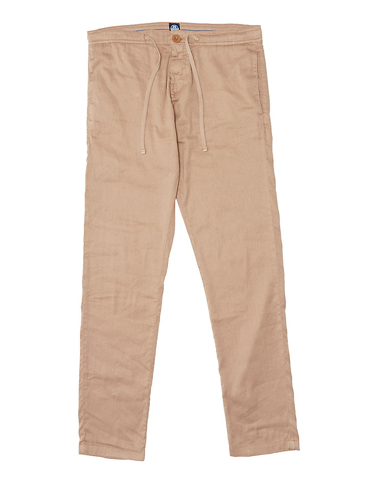 Drawstring Waist Chino Trousers
