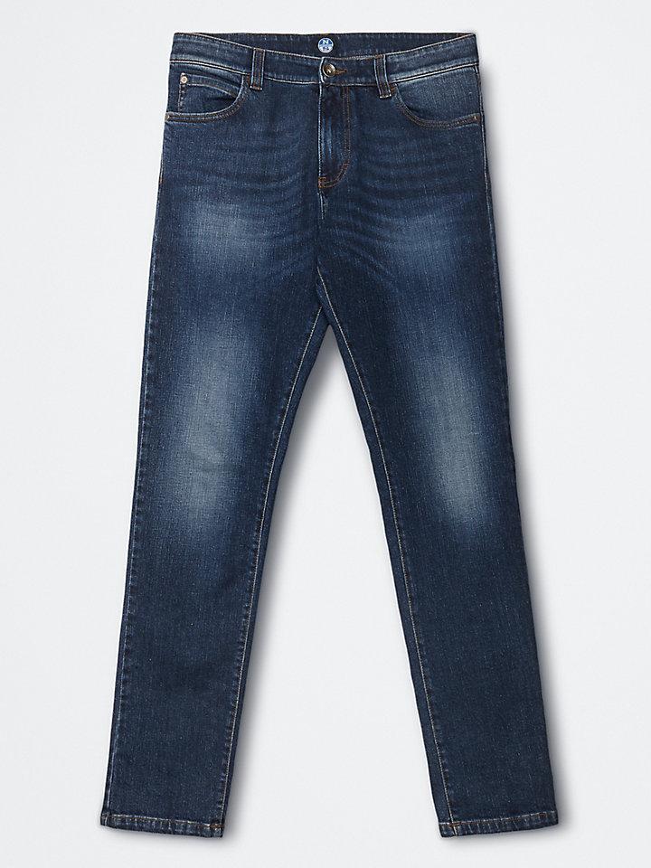 Jeans met vijf zakken