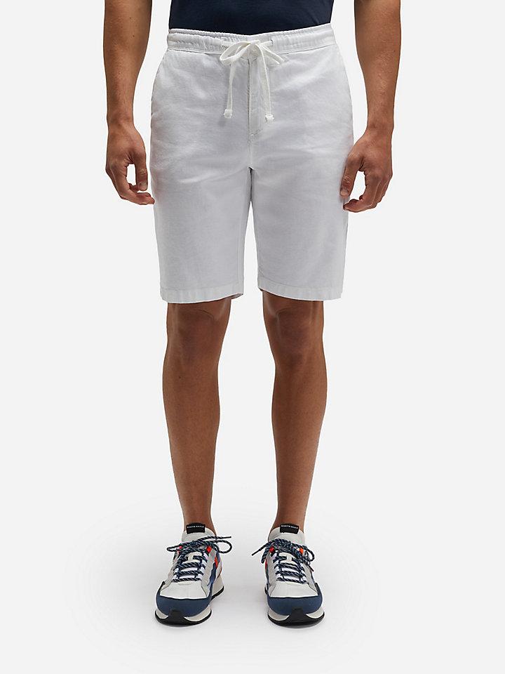 Drawstring chino shorts