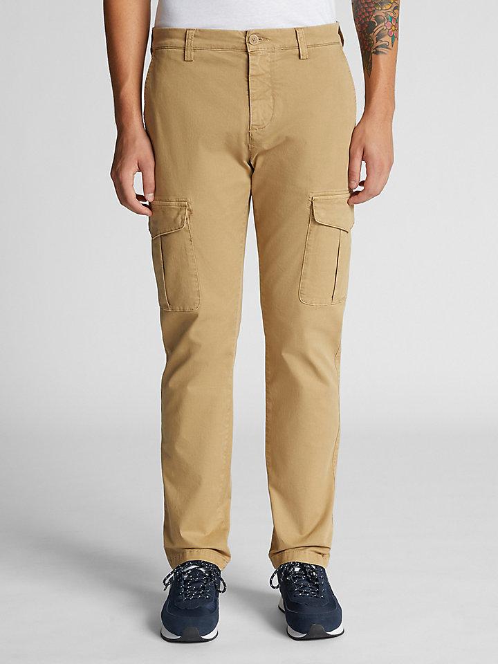 Stretch Gabardine Trousers