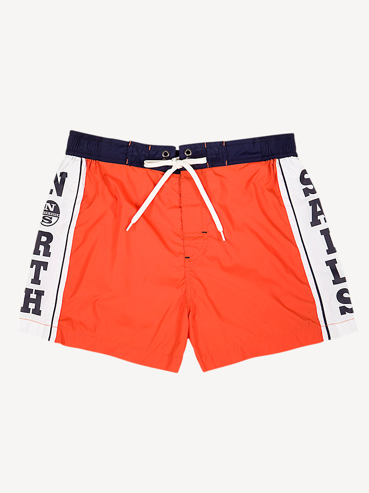 Lowell Printed Volley Short