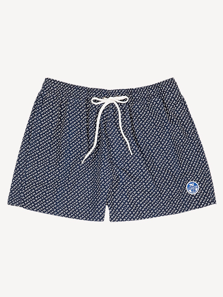 Printed Lowell Volley Short