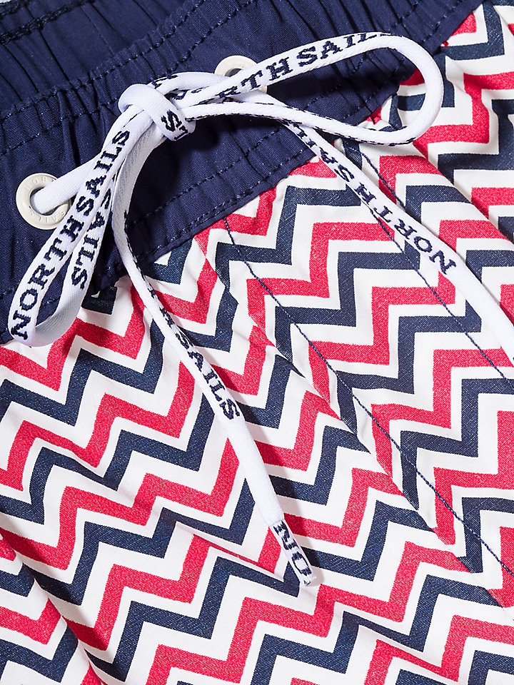Allover Printed Lowell Volley Short