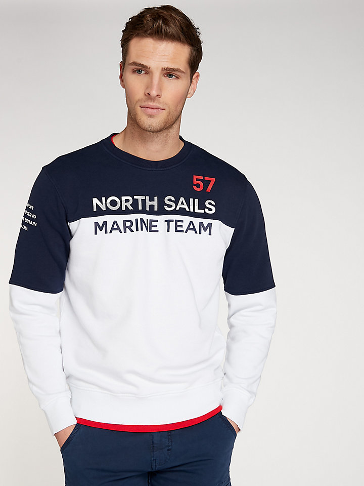 Marine Team Round Neck Sweater