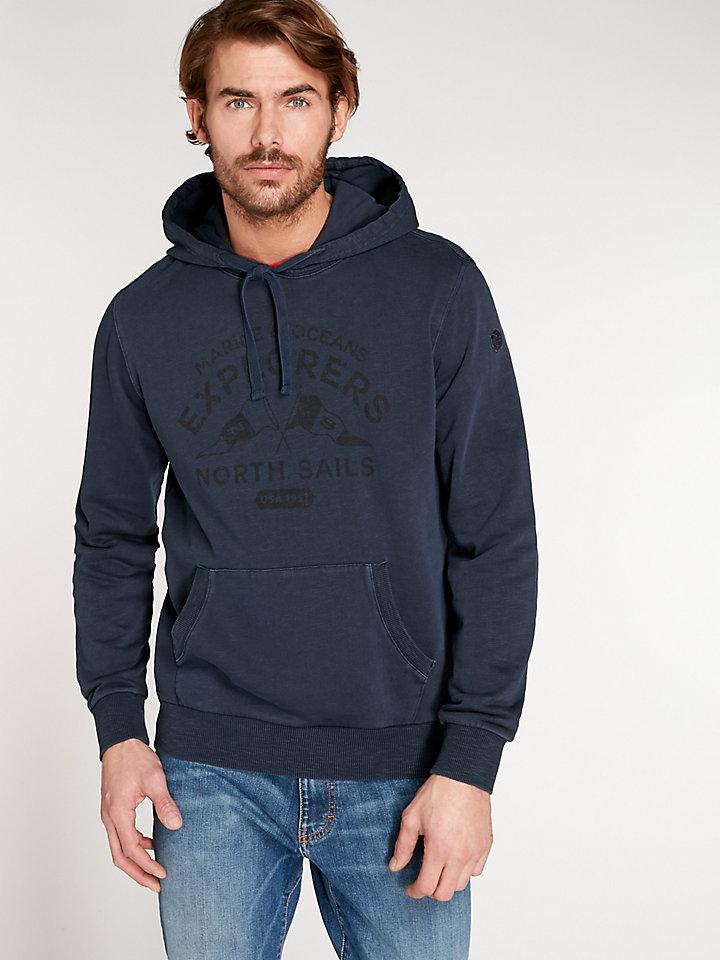 Garment Dyed Slub Hoodie