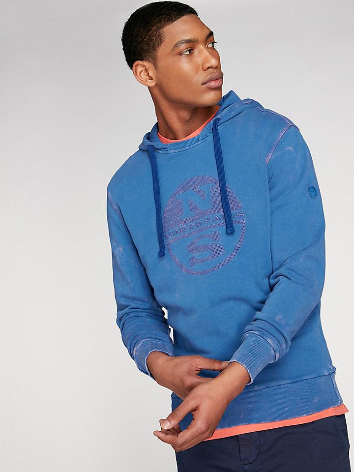 Garment Dyed North Hoodie