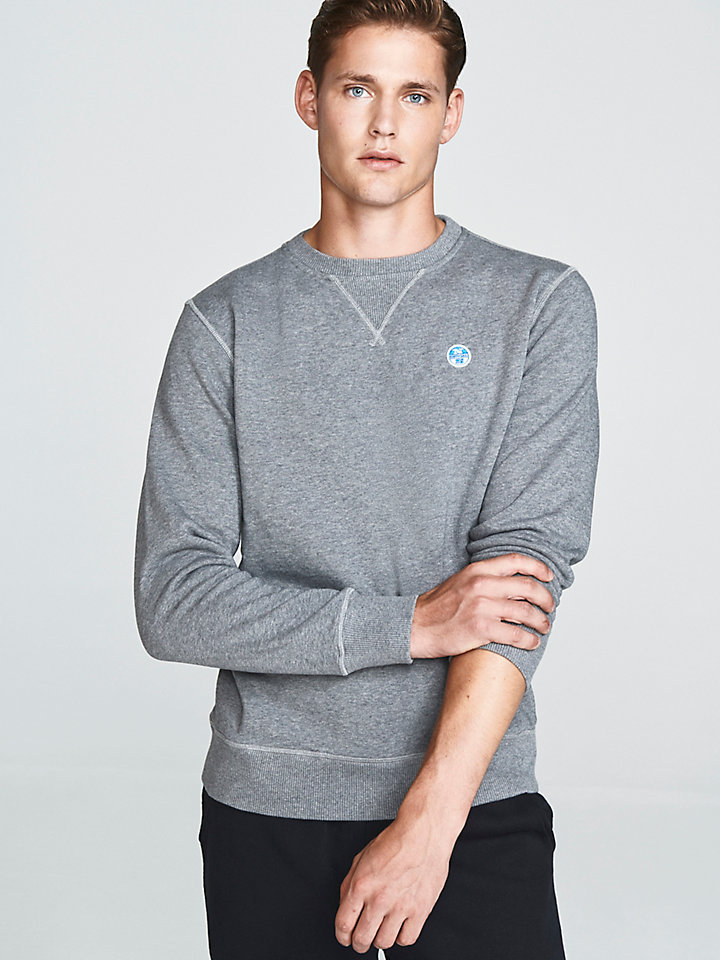 Brushed Cotton Sweatshirt