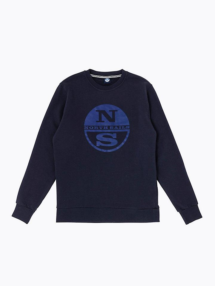 Brushed Cotton Sweatshirt