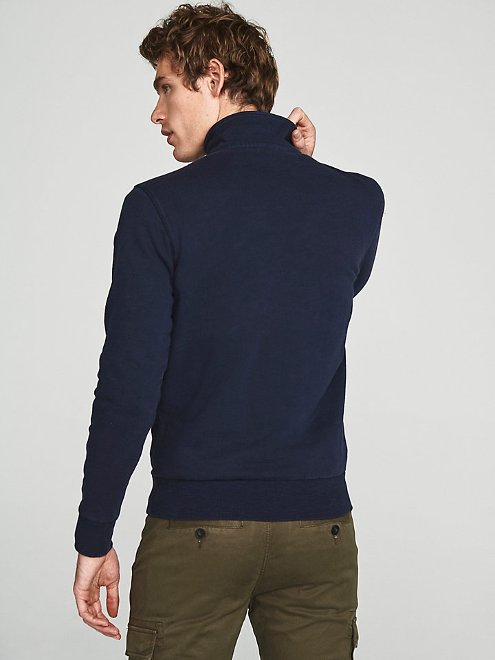 Slub Cotton Sweatshirt