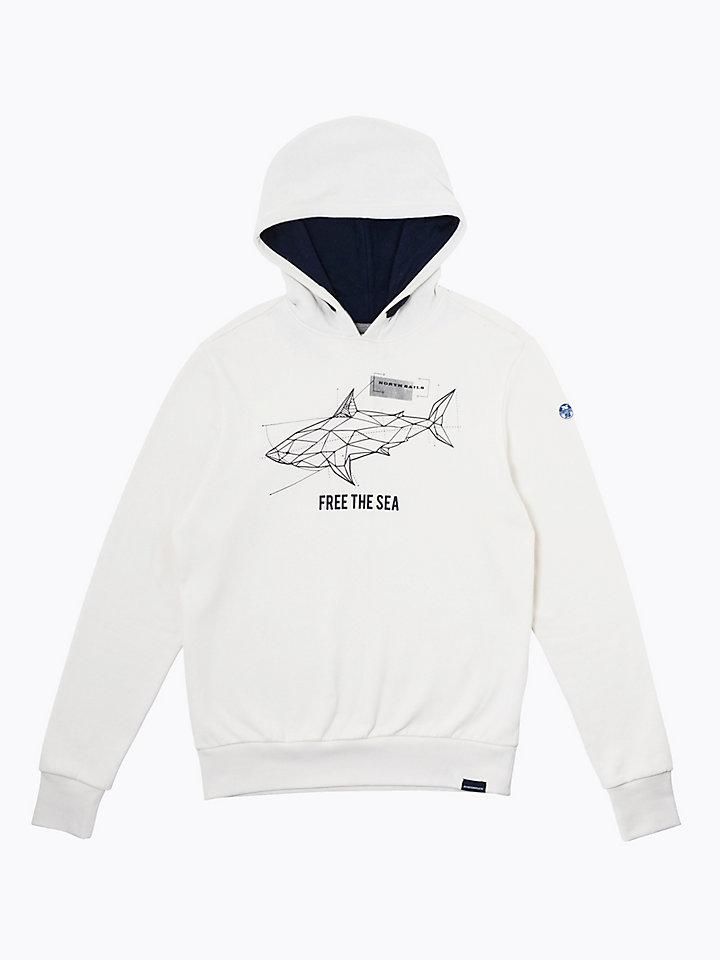 Free The Sea Hoodie