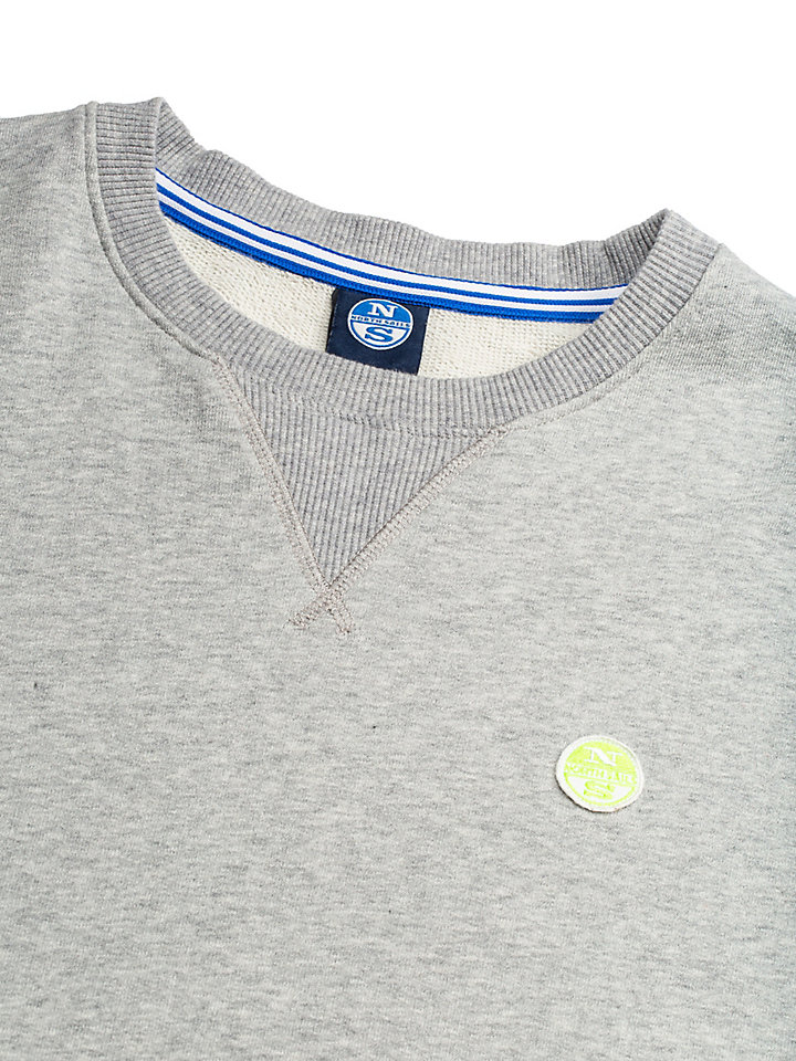Sweatshirt van katoenjersey