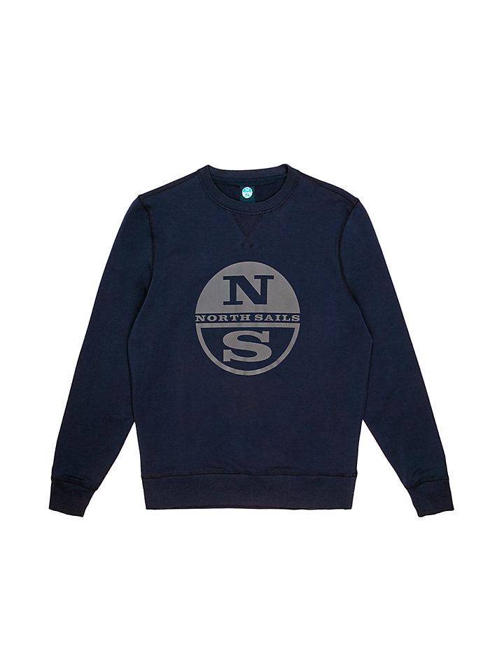 Katoenen sweatshirt met stretch