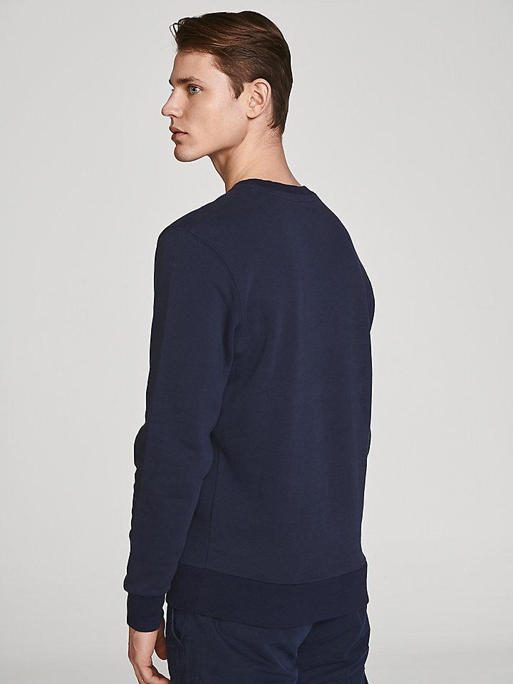 Sweatshirt van biologisch katoen