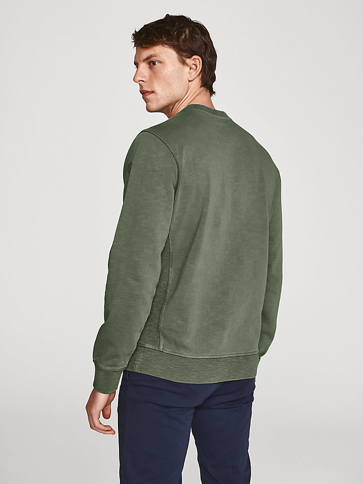 Slub Cotton Sweatshirt