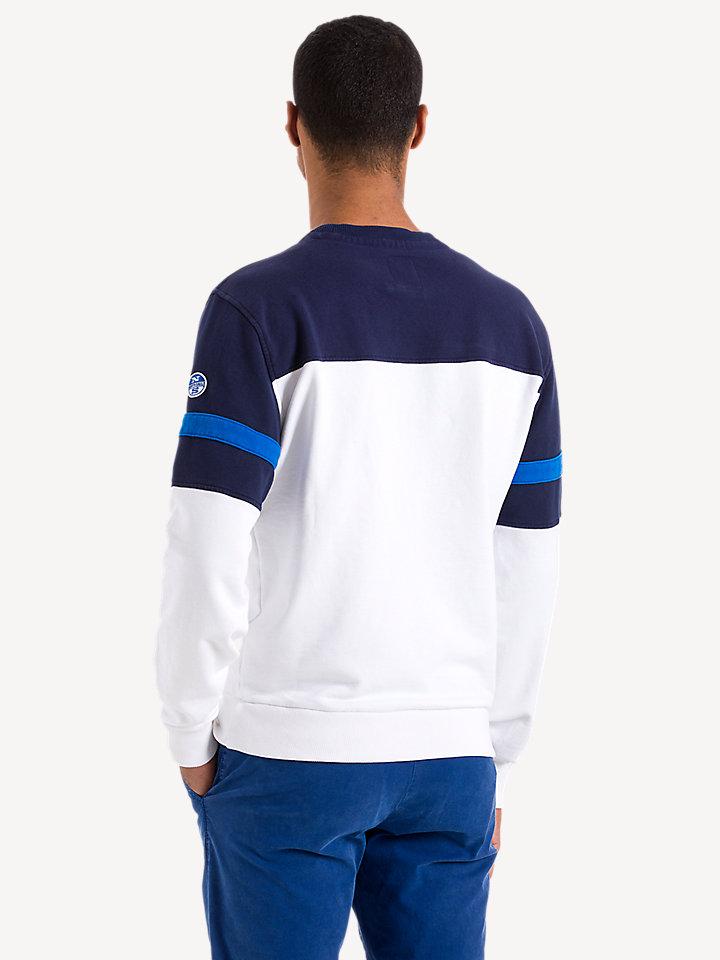 Lowell Printed Logo Fleece Sweater