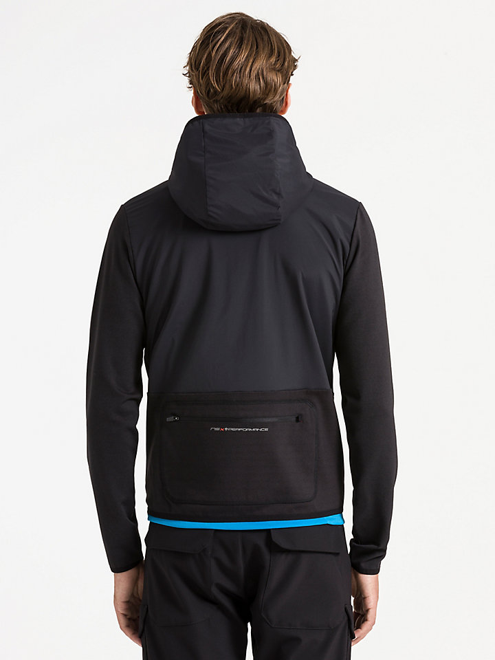 Hooded Full Zip Sweater