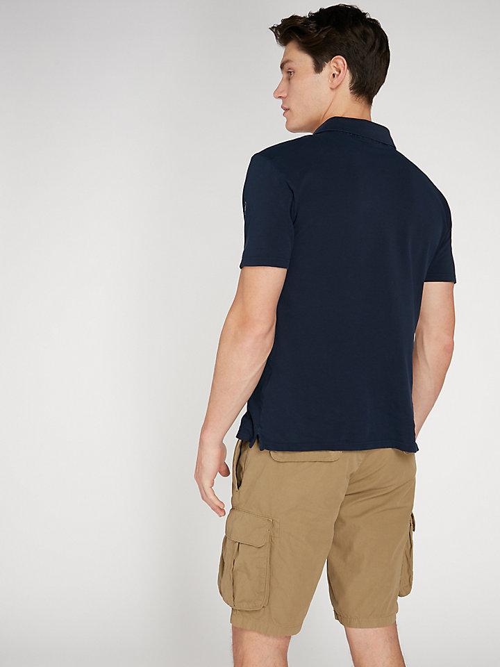 Light Polo With Pocket