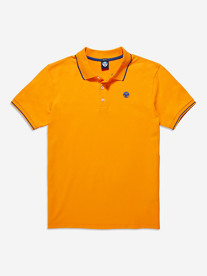 Slim Stretch Fluo Polo