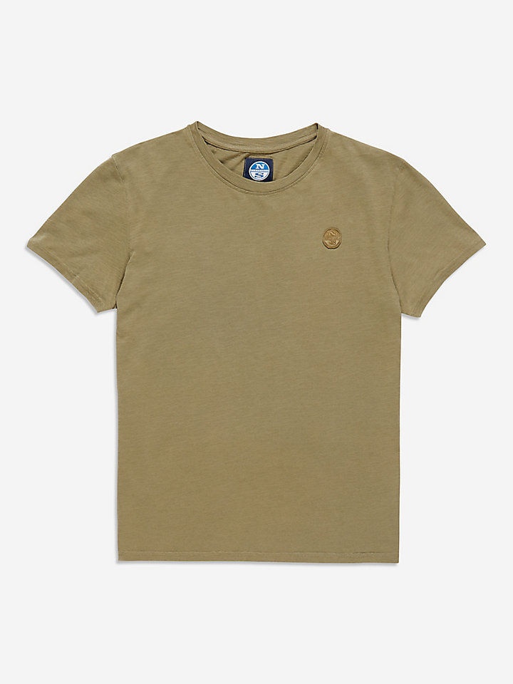 Garment Dyed Slub T-Shirt