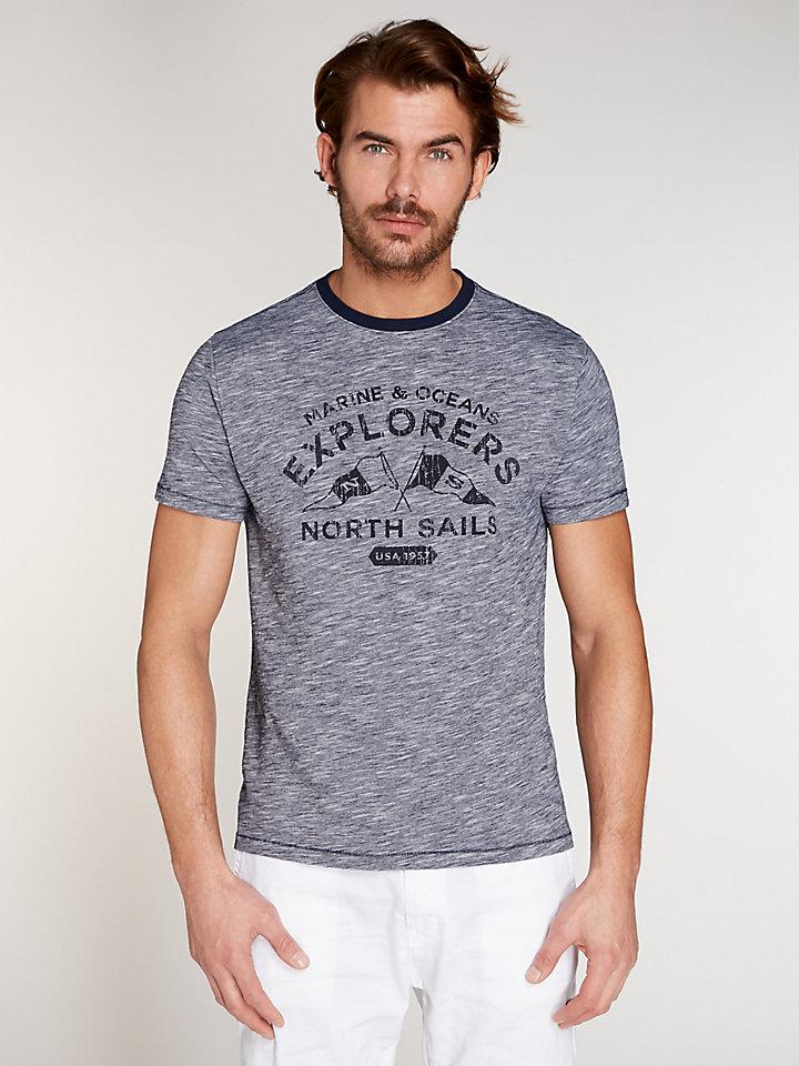 Two Tones Slub T-Shirt