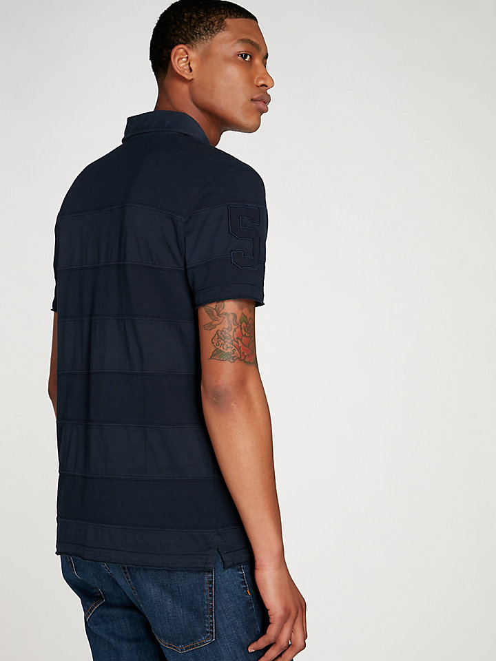 Garment Dyed Mixed Polo