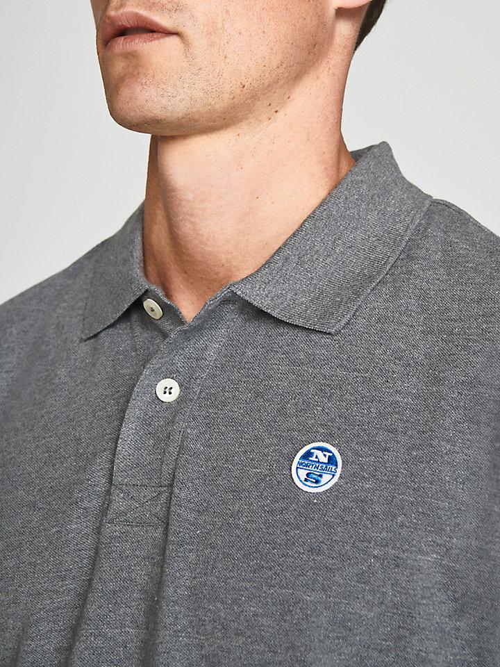 Cotton Polo With Appliqués